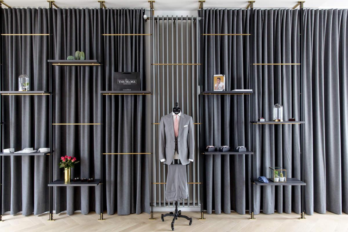 Werbefotografie für das The Bloke Ladenlokal in Köln