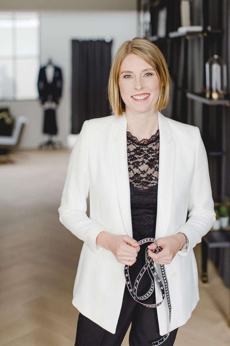 Portraitfoto einer Unternehmerin aus Köln