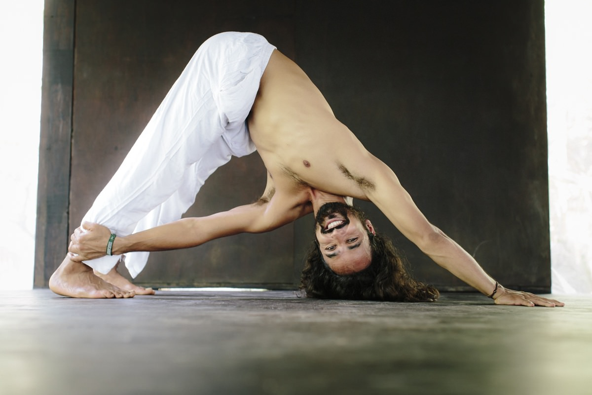 Foto einer Yoga Pose
