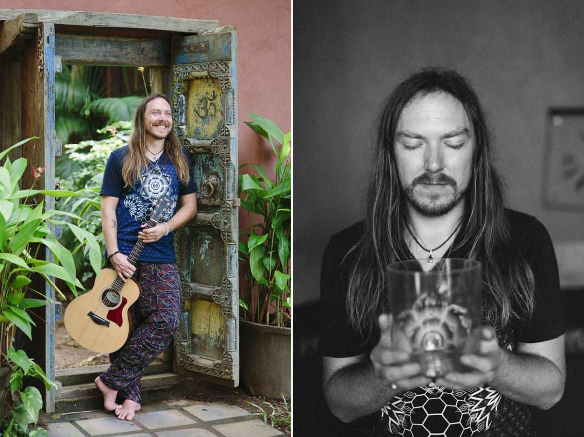 Portrait picture of musician Darren Austin Hall