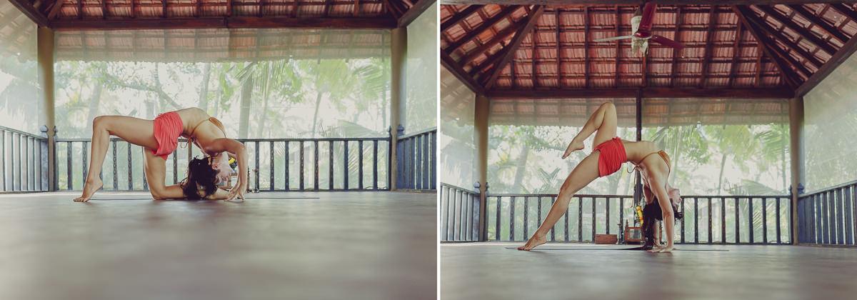 impressive yoga portrait of yoga teacher Meghan Currie