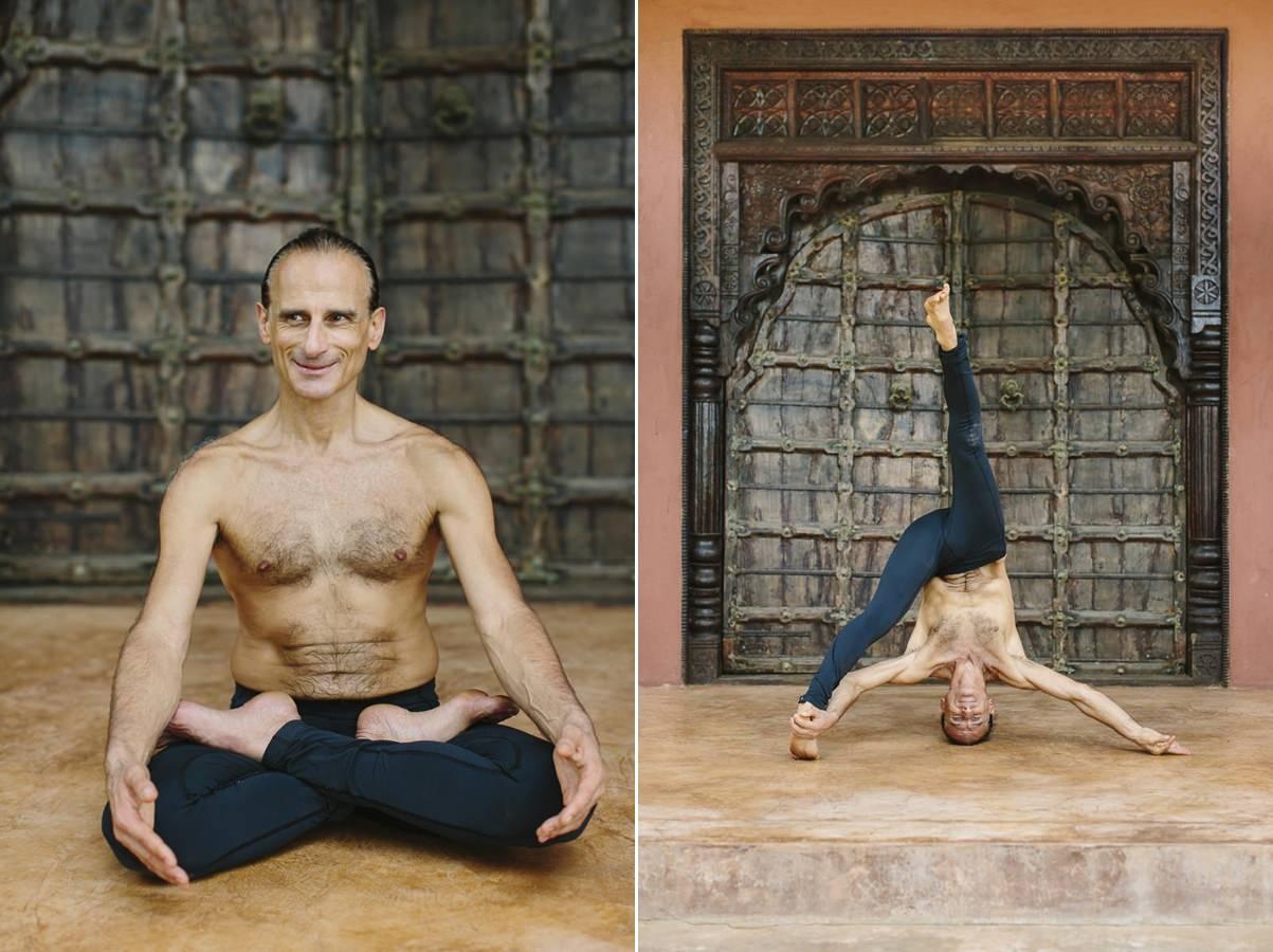 Yoga pictures of yoga teacher Simon Borg Olivier