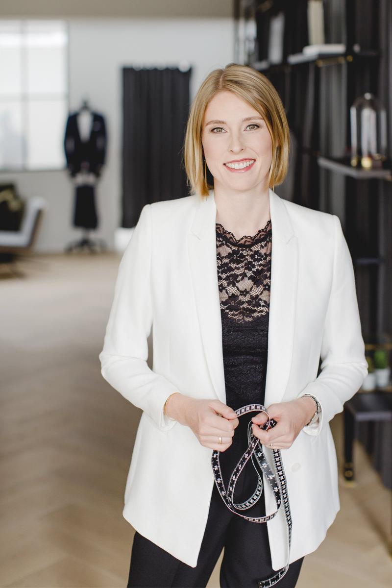 Professionelles Business Portrait einer Unternehmerin von Hanna Witte Fotografie