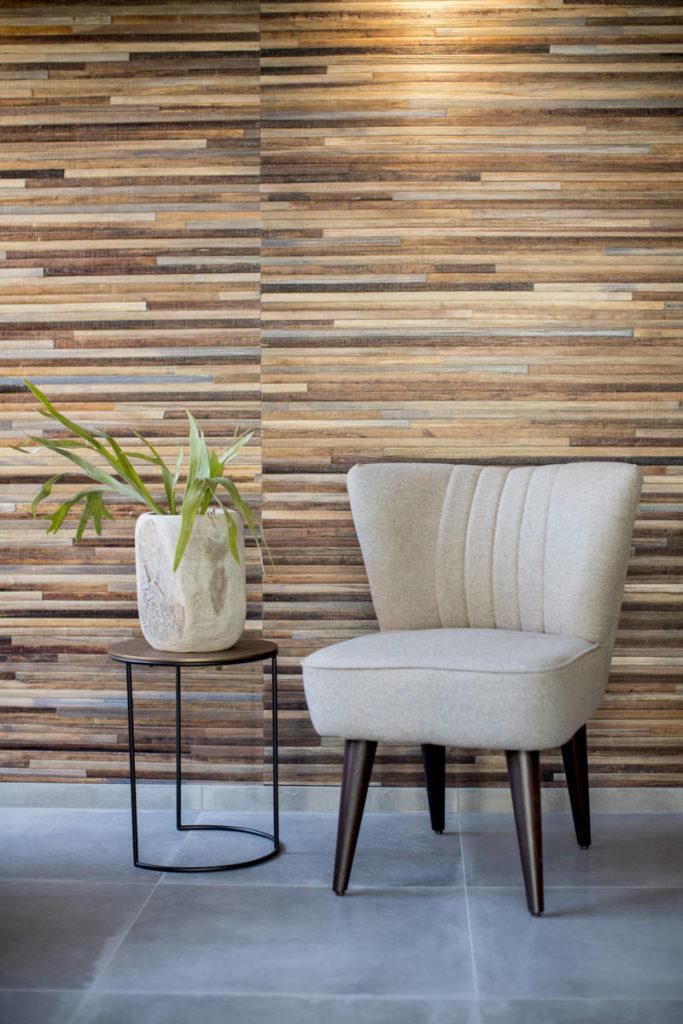 Foto eines Sessels in einem modernen Hotel | Foto: Hanna Witte