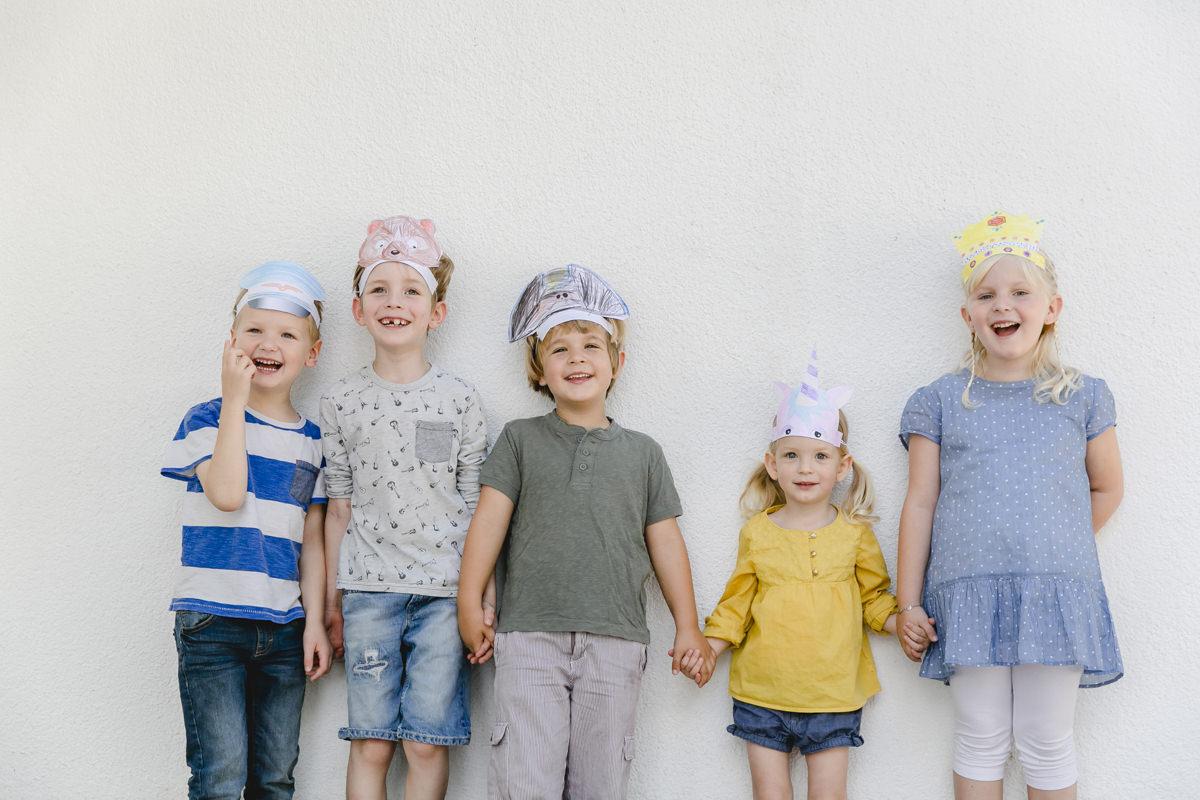 Portraitfoto von 5 Kindern | Foto: Hanna Witte