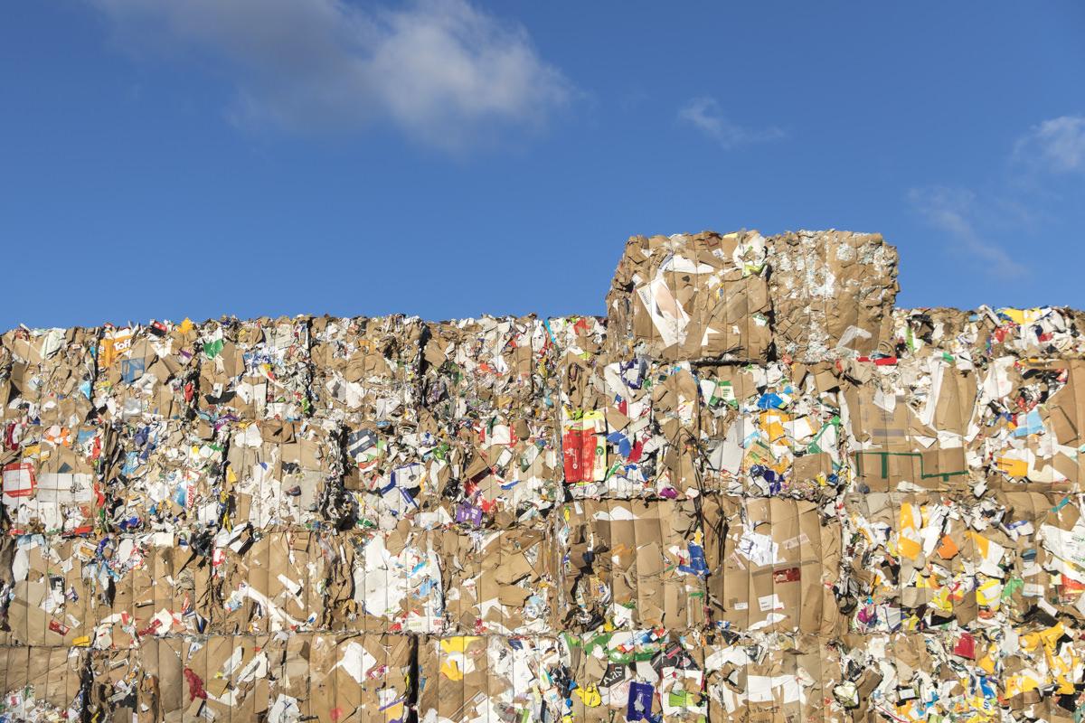 Industriefotografie vom Abfall eines Entsorgungsfachbetriebs aus Berlin