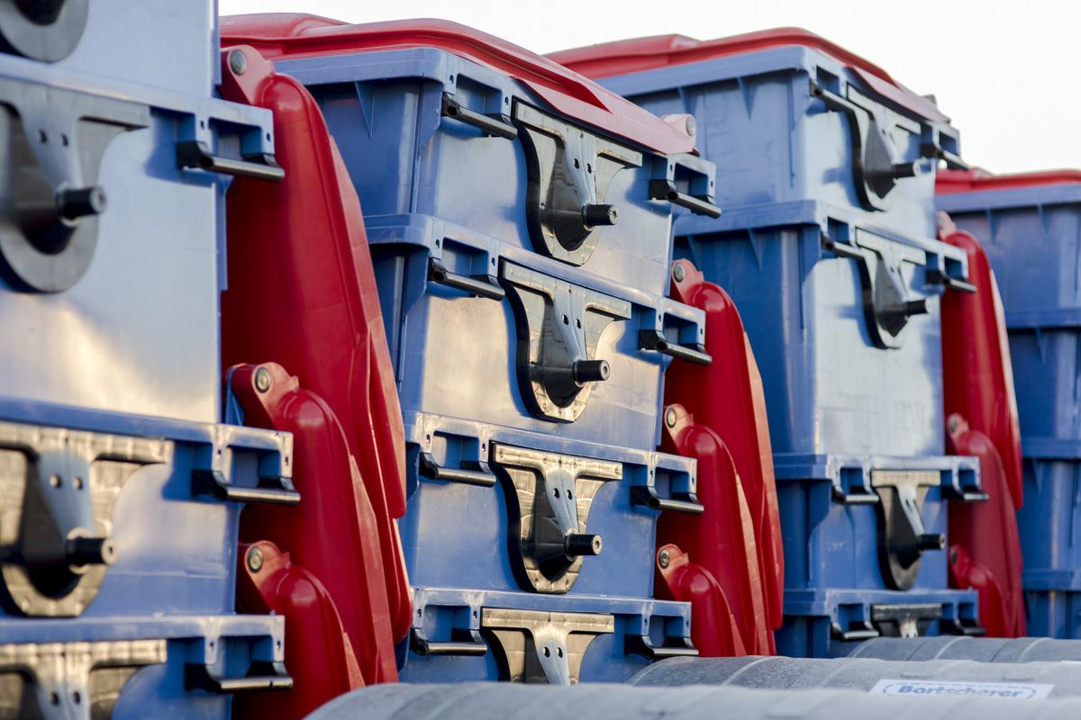 Unternehmensfoto der Mülltonnen der Abfallwirtschaft Bartscherer aus Berlin