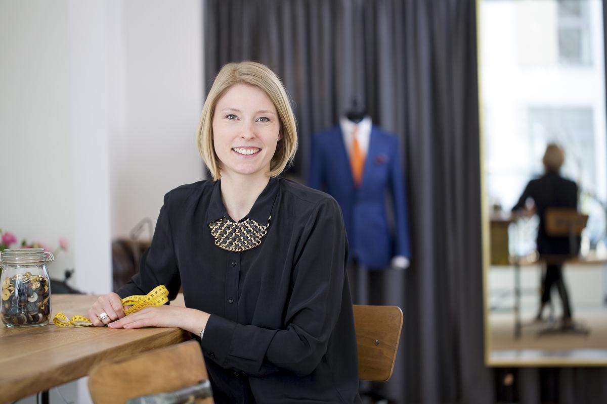 Unternehmensportrait der Unternehmerin von The Bloke Düsseldorf