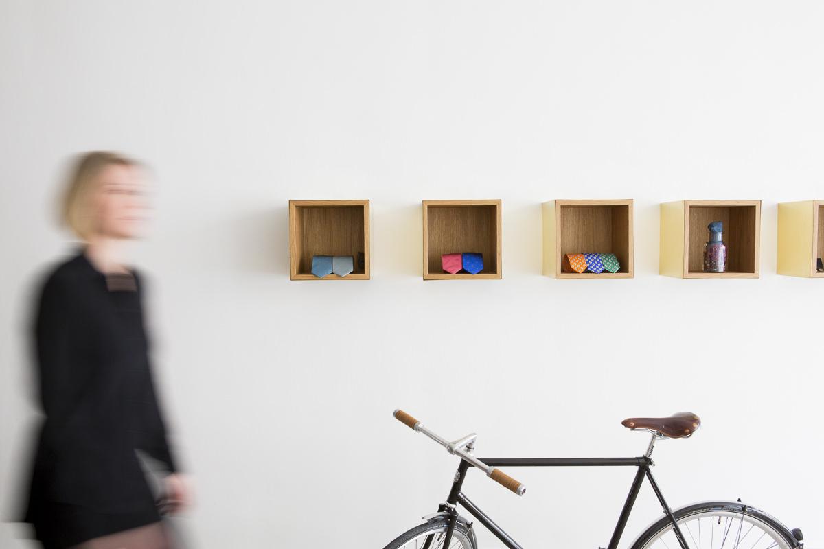 Unternehmensfotografie für das The Bloke Geschäft in Düsseldorf