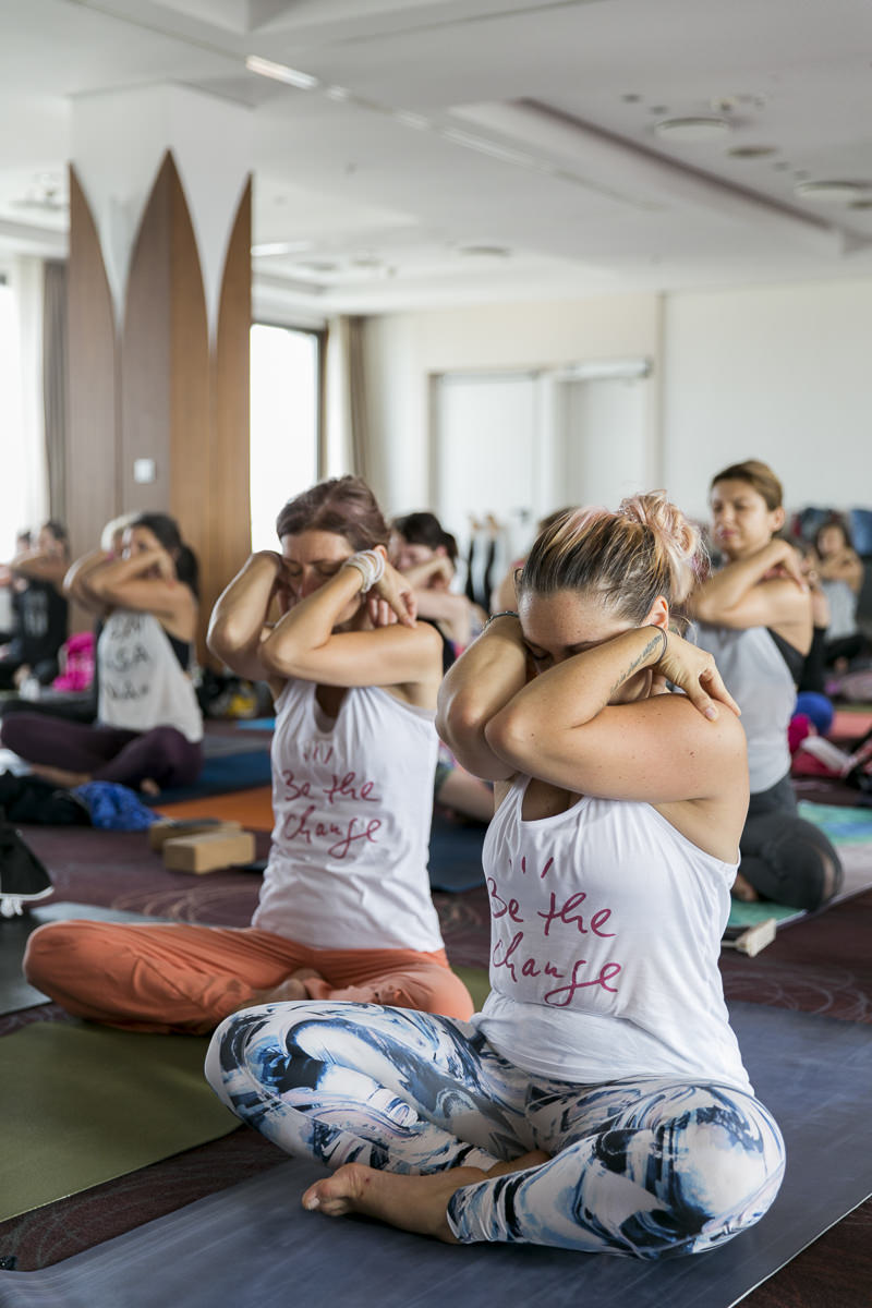Yoga Workshop bei der Yoga Conference Germany 2018