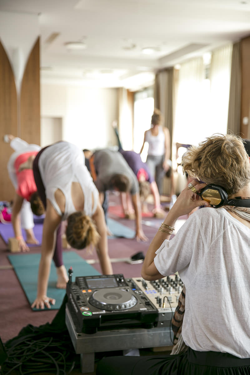 Eindrücke eines Yoga Workshops der Yoga Conference Germany 2018