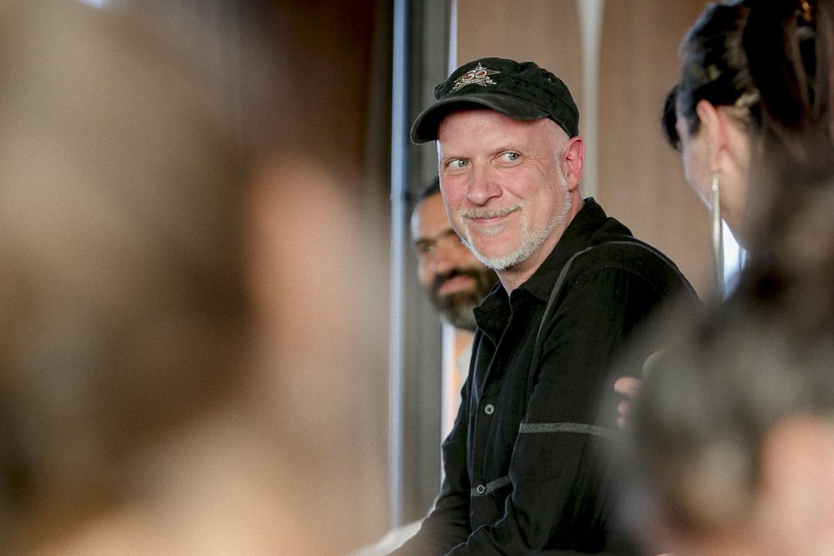 Yoga Lehrer Frank Schuler während der Yoga Conference Germany 2018