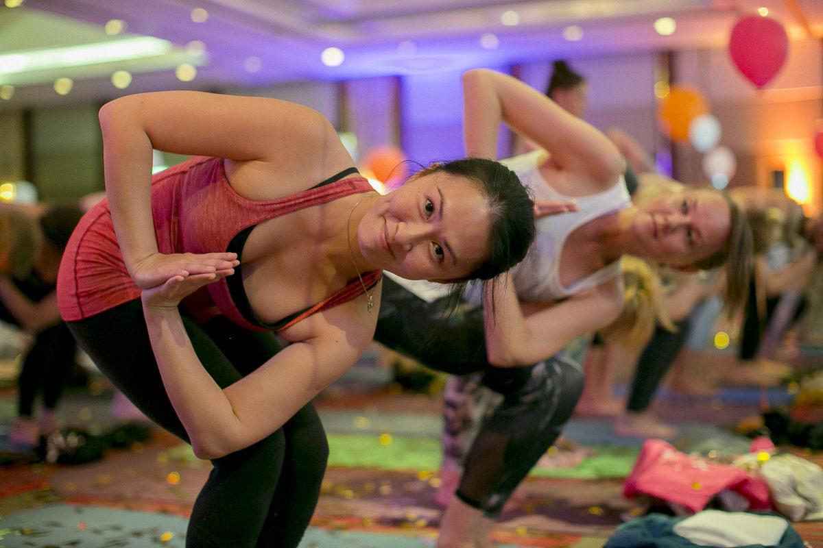 Eindrücke eines Workshops der Yoga Conference Germany 2018