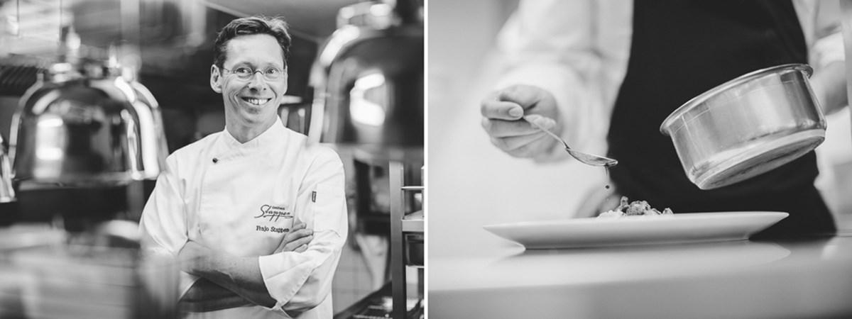 Portraitfoto von einem Koch in der Küche | Foto: Hanna Witte