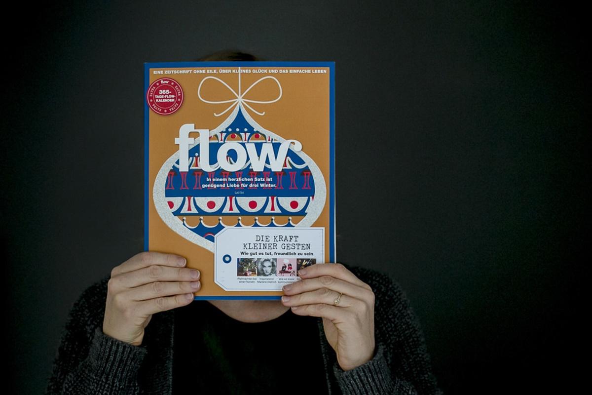 Titelseite einer Ausgabe des Flow Magazins | Foto: Hanna Witte