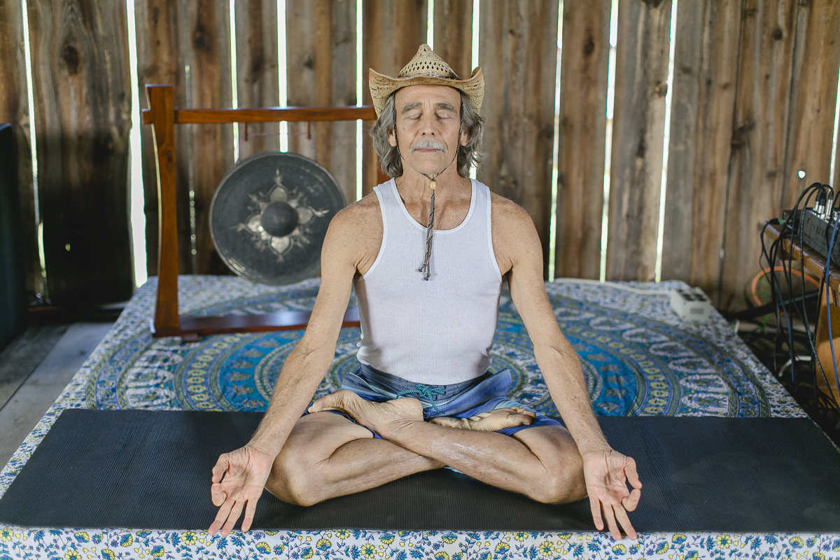 Yoga portrait of Doug Swanson at the Groove Yoga Festival in Ontario