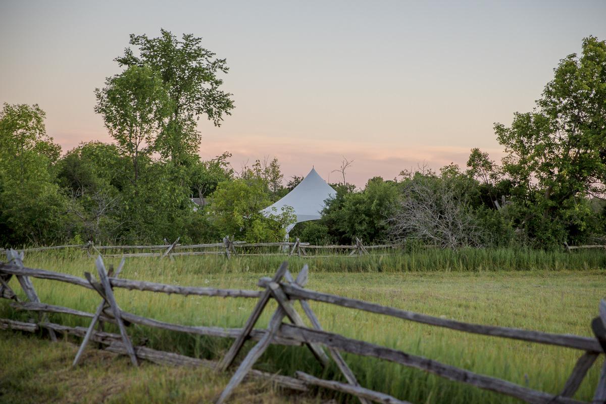 Naturaufnahme für die Kanada Fotoreportage back to the land