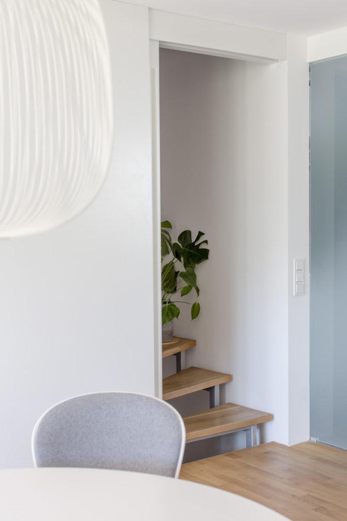 Innenarchitekturfoto Wohnbereich mit Treppe