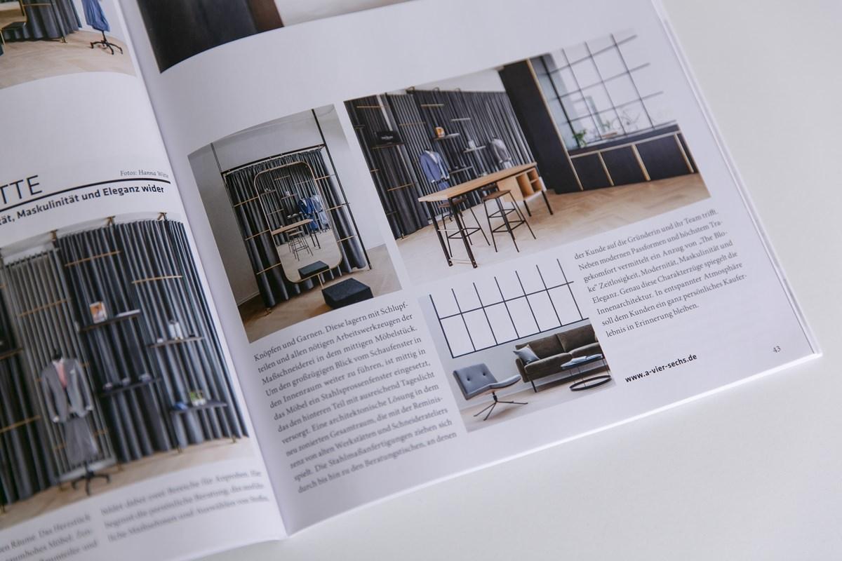 Ausgabe Cube Magazin mit Innenarchitekturfotos von Hanna Witte
