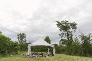 Foto eines Yogakurses beim The Groove Yoga Festival in Kanada