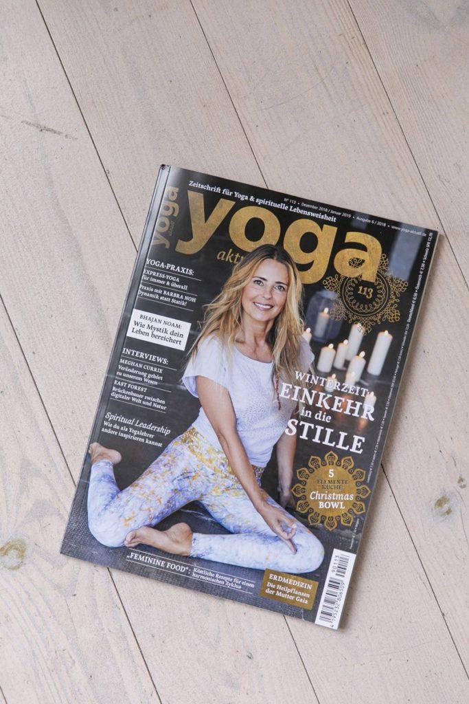 Titelbild Yoga Aktuell Ausgabe 6/2018