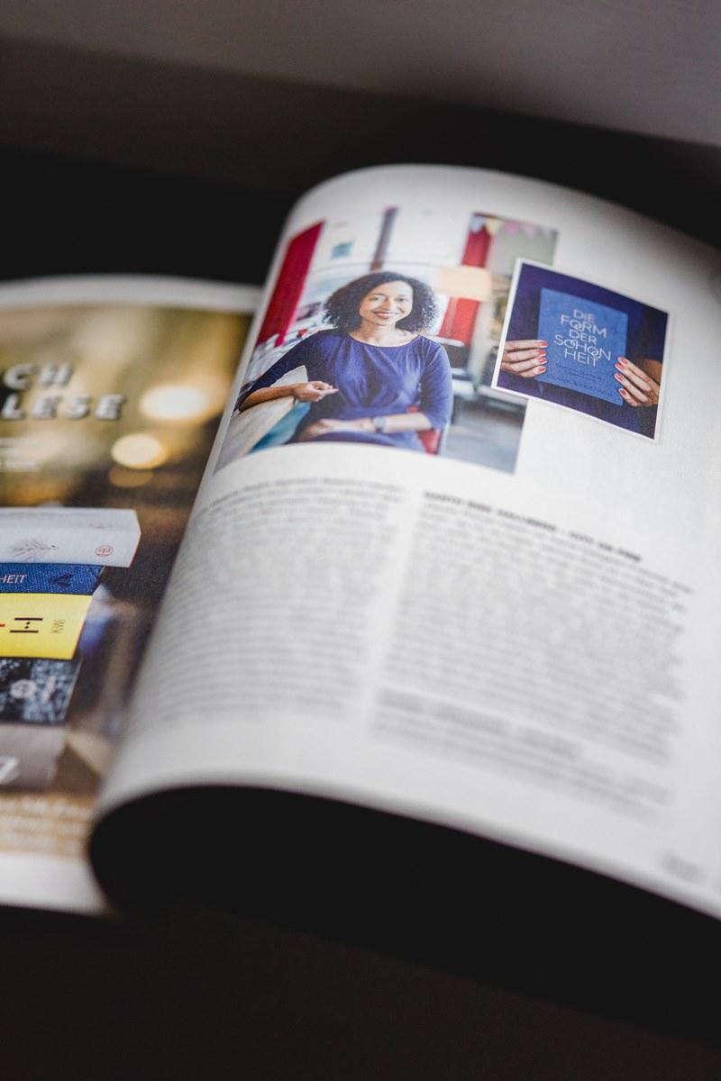 Artikel über Melanie Raabe im Flow Magazin