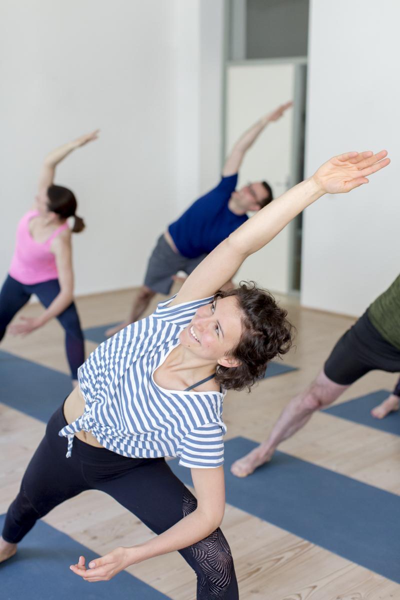 Eindruck von einem Yoga Kurs im Yoga Studio Shivas Loft in Düsseldorf