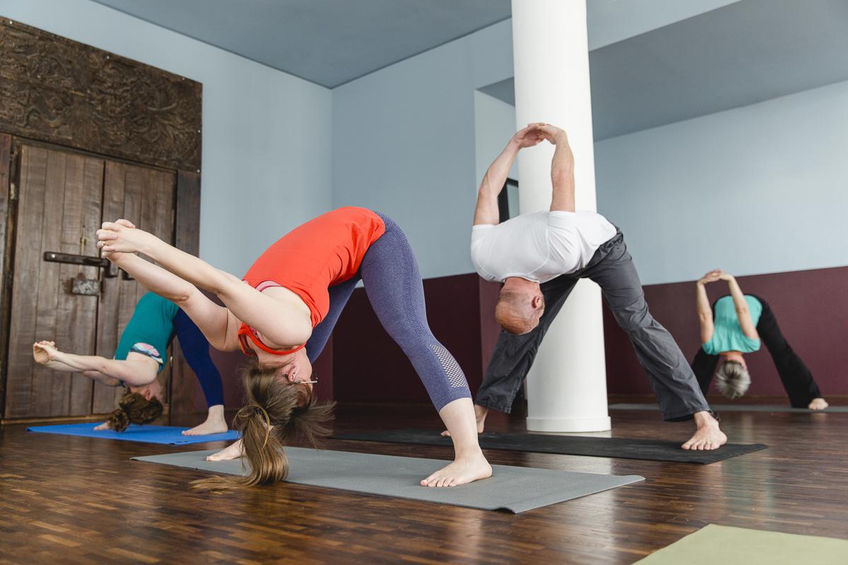 Foto von einem Yoga Kurs im Yoga Studio Ginger Up in Köln