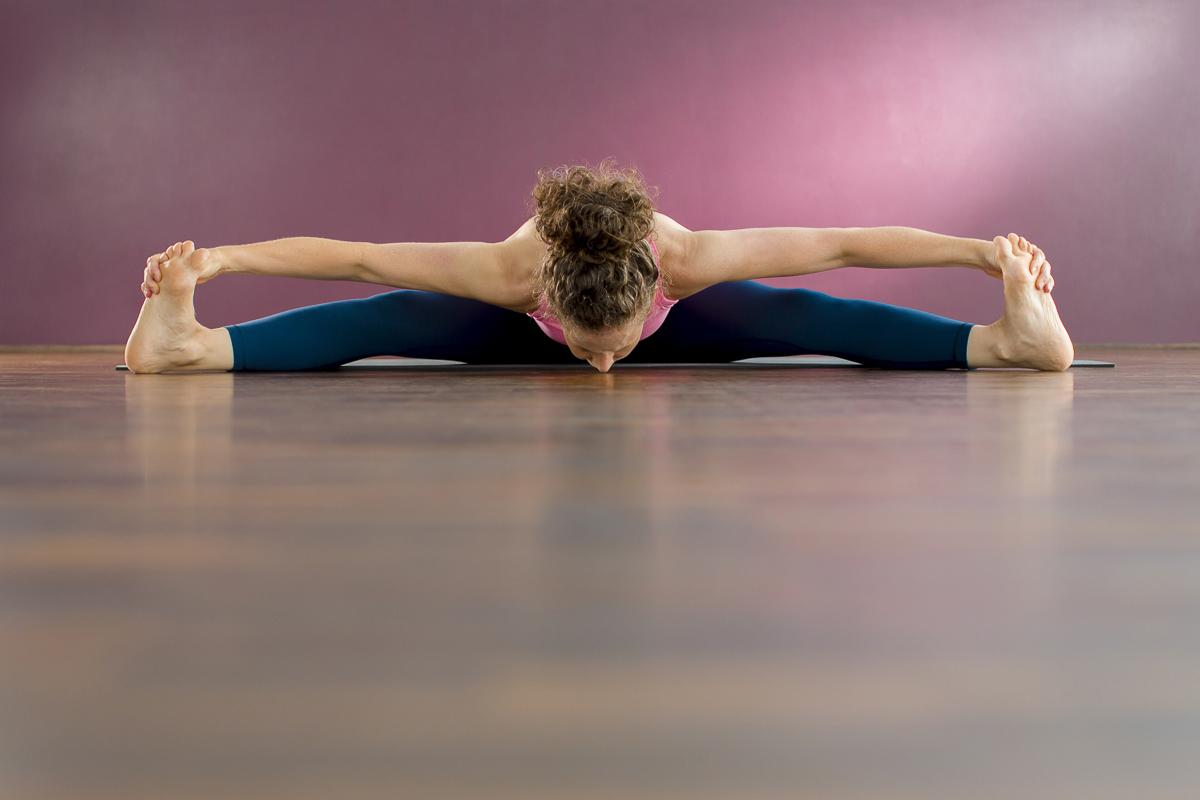 Foto einer beeindruckenden Yoga Übung