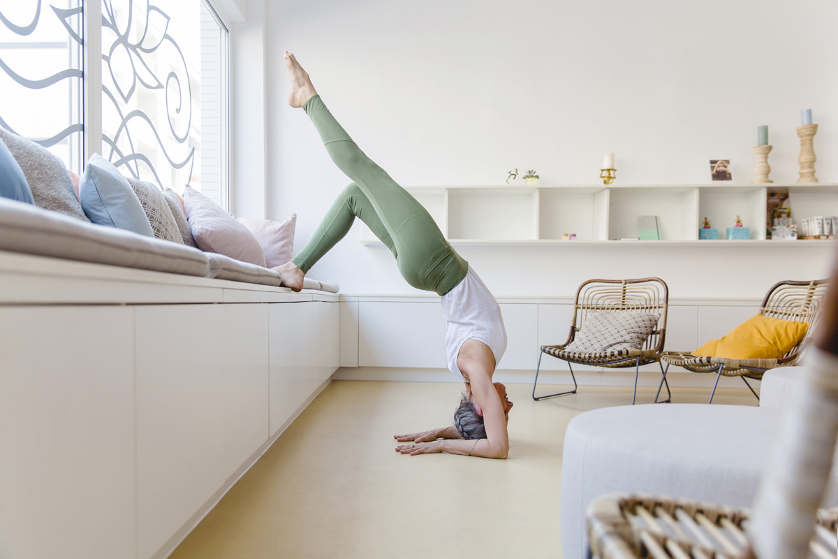 Yogafoto Asana im Yoga Studio Lord Vishnus Couch in Köln