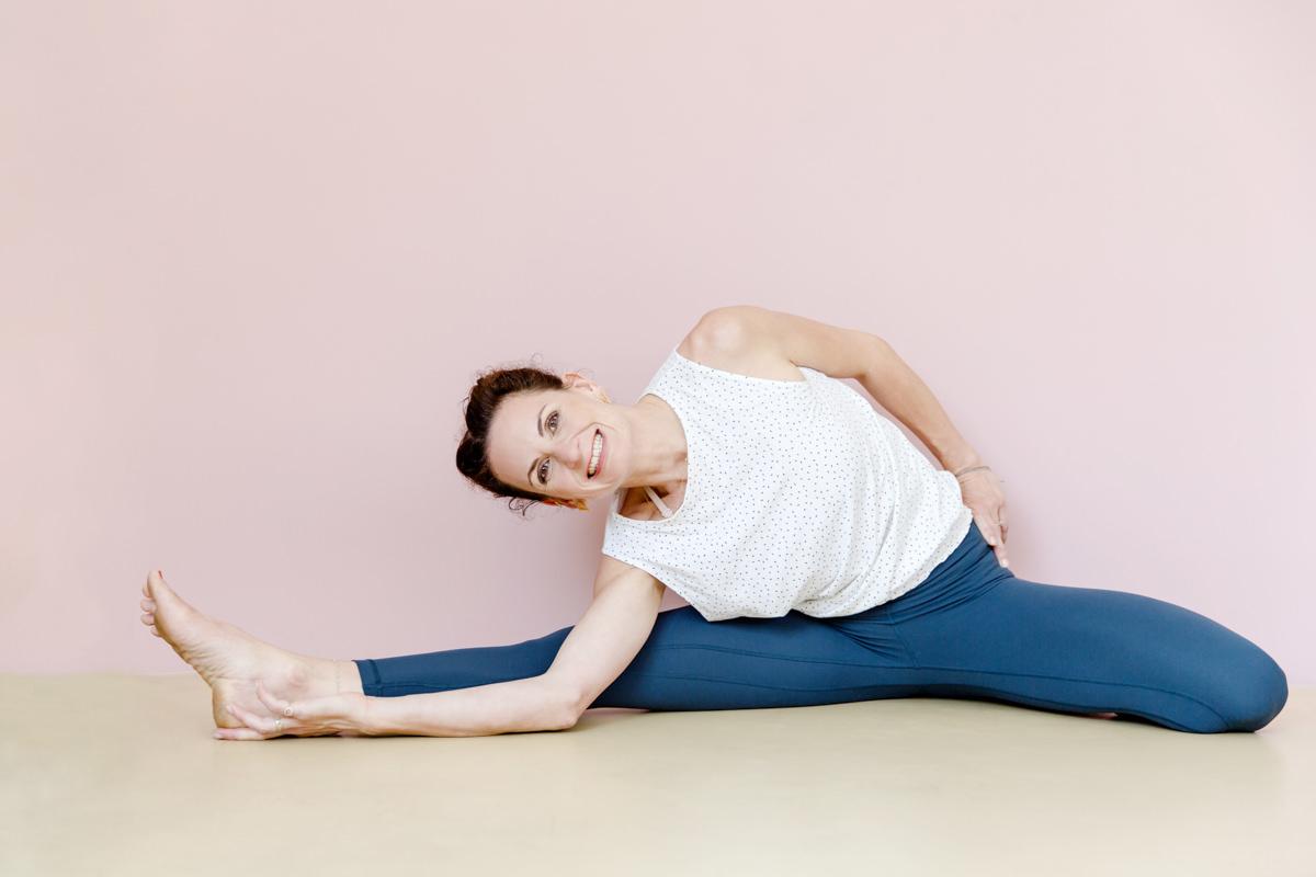 Yogaportrait von Yogalehrerin Nicole Bongartz aus Köln
