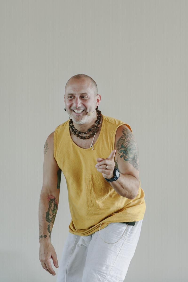 Yoga Lehrer Raghunath Cappo bei der Yoga Conference Germany 2019