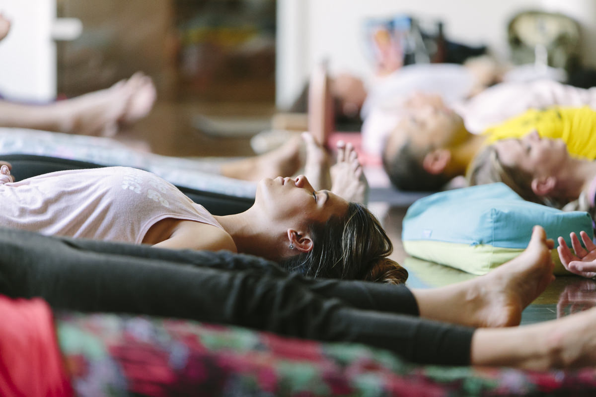 Eindrücke eines Workshops auf der Yoga Conference Germany 2019
