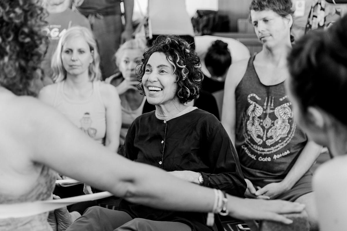 Yoga Lehrerin Abbie Galvin auf der Yoga Conference Germany 2019