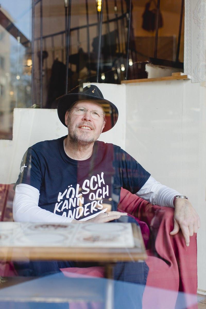 Portraitfoto von Musiker Franz Martin Willizil für das Klaaf Magazin