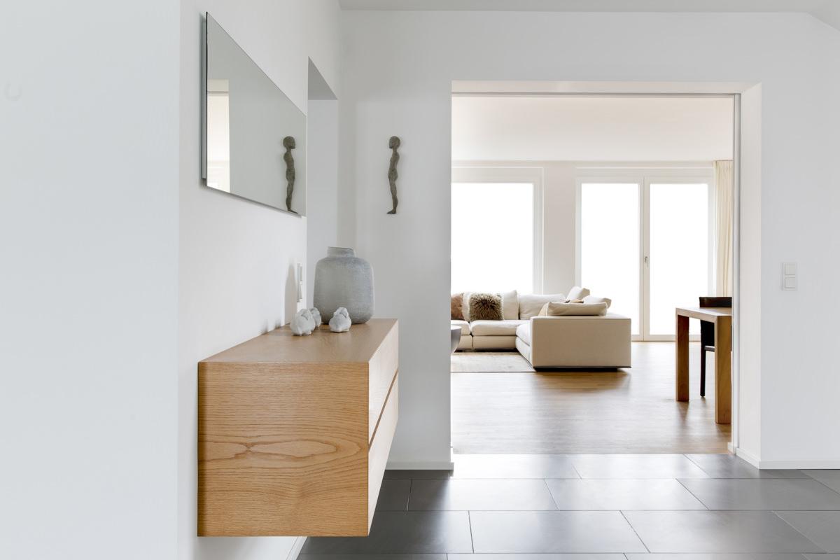 Innenarchitekturfoto eines modernen Hauses, das von Innenarchitektin Judith Heisterkamp gestaltet wurde