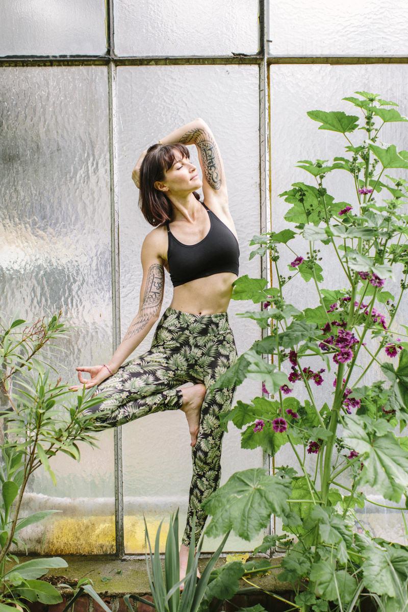 Yoga Foto von Wanda Badwal | fotografiert von Hanna Witte