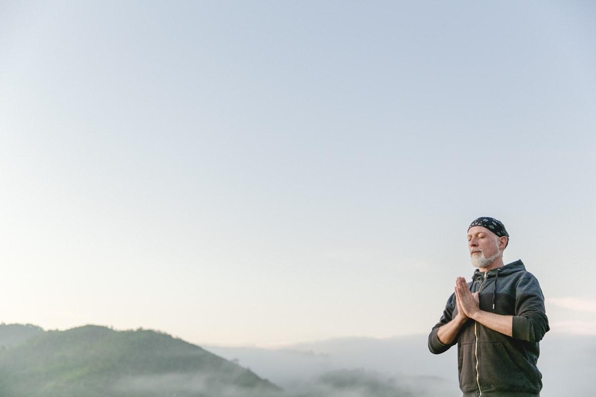 Yogafoto eines Yogalehrers in Portugal