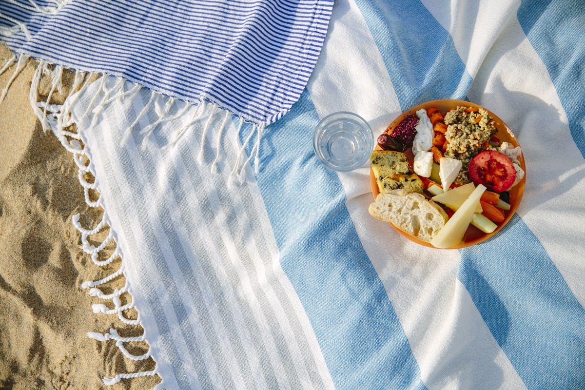 Foto eines gesunden Snacks bei einem Yoga Retreat in Portugal