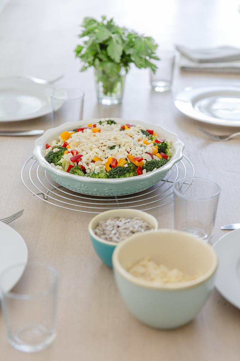 Foto von einem gesunden Gericht, zubereitet von Foodbloggerin Sandra Ludes