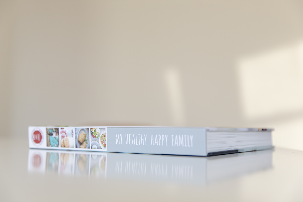 Kochbuch My healthy happy family von Foodbloggerin Sandra Ludes