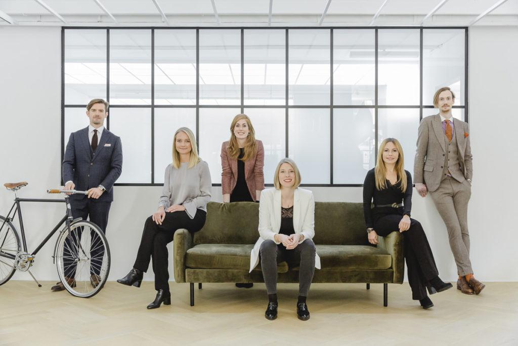 Teamportrait der Mitarbeiter von The Bloke aus Düsseldorf