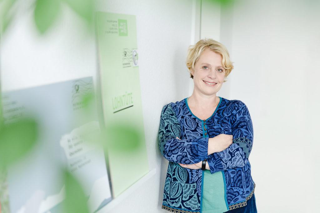 Portrait der Geschäftsführerin der Fundraising Agentur fundango