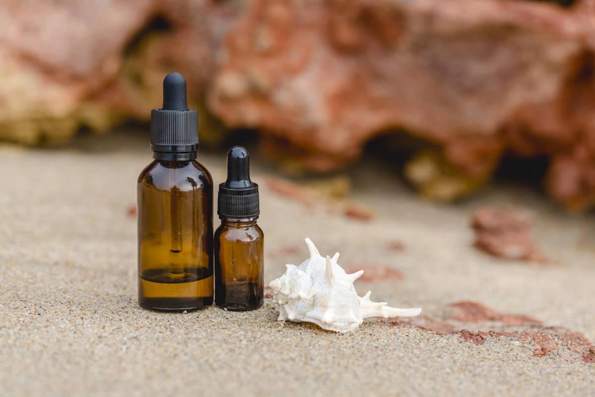 Werbefoto von Ätherischen Ölen der Wellness Firma Pure Scents Yoga | Foto: Hanna Witte