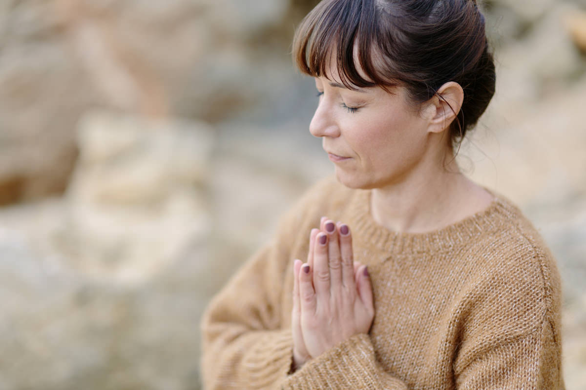 Yogaportrait von Yogalehrerin Christine Mack | Foto von Hanna Witte