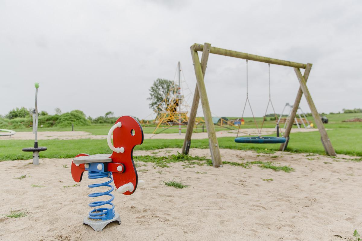 Foto vom Spielplatz des Familienhotels Bauer Martin | Foto: Hanna Witte