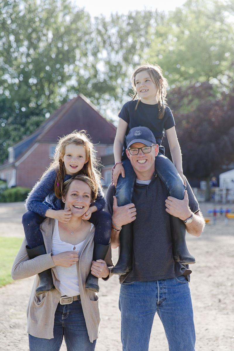 Foto von einer Familie beim Urlaub im Familienhotel Bauer Martin | Foto: Hanna Witte