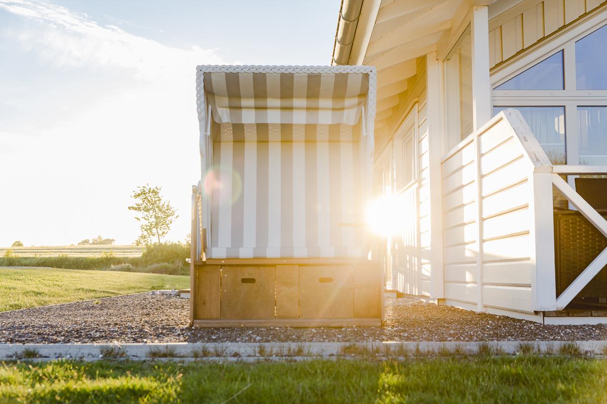 Foto von einem Wellnesshaus auf einem Ferienhof an der Ostsee | Foto: Hanna Witte