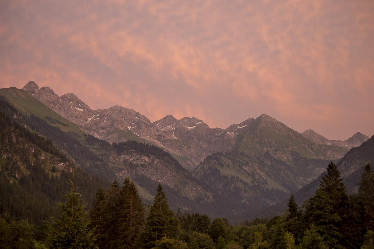 Berg Panorama im Allgäu | Foto: Hanna Witte