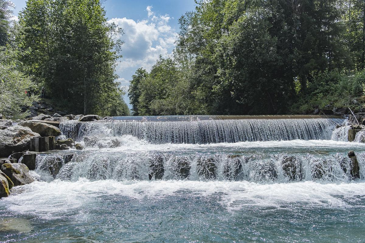 Naturfoto von einem Fluss im Allgäu | Foto: Hanna Witte